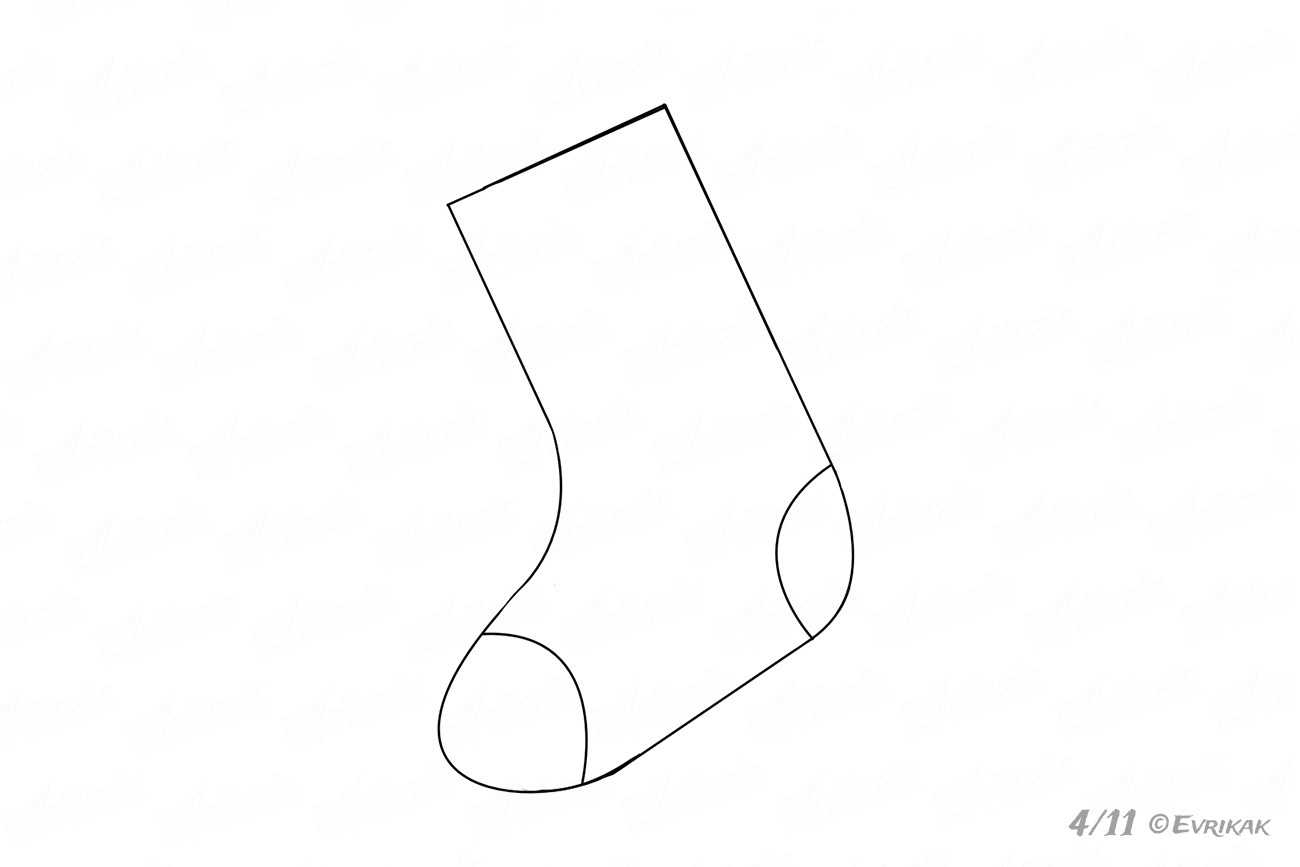 Components of the sock