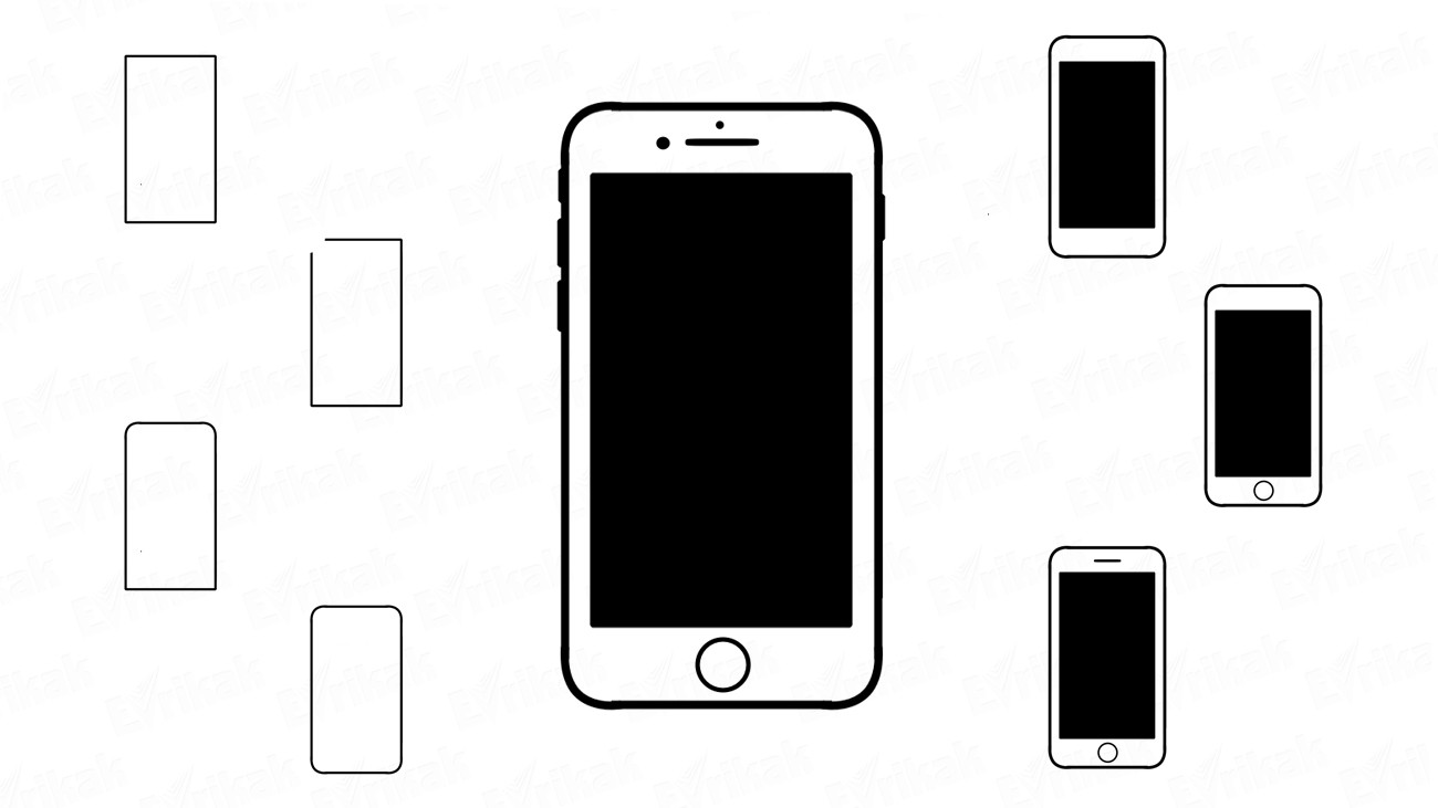Learn to draw an iPhone in stages (+ coloring)