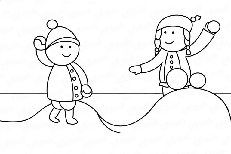 """Coloring online """"A game of snowballs"""""""