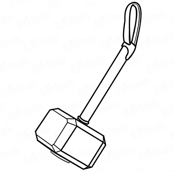 coloring pages hammer | Coloring