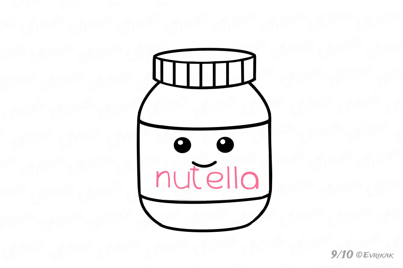 "Inscription ""Nutella"""