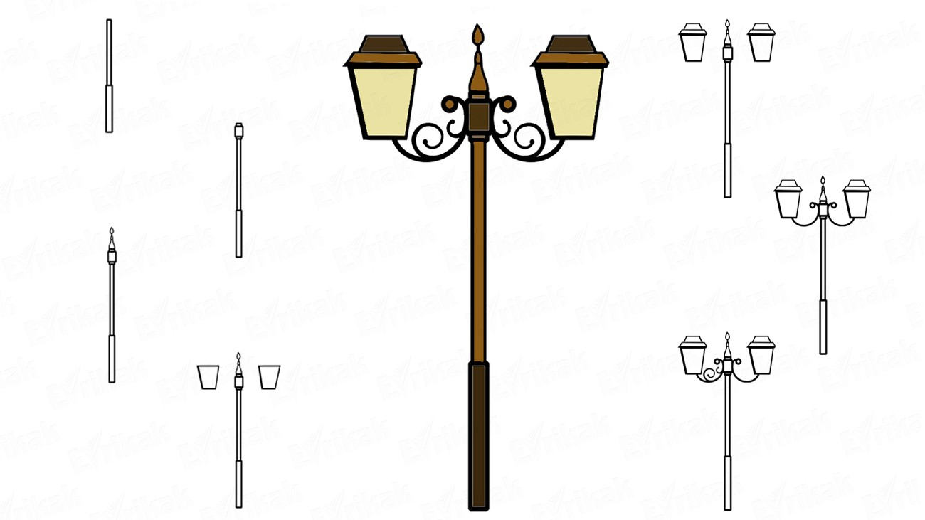 How to draw a lantern in the Provence style