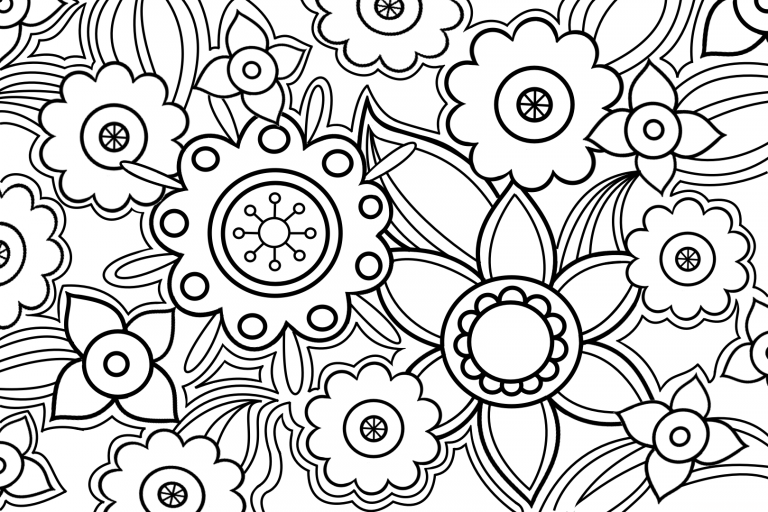 """Coloring online """"colourful patterns"""""""
