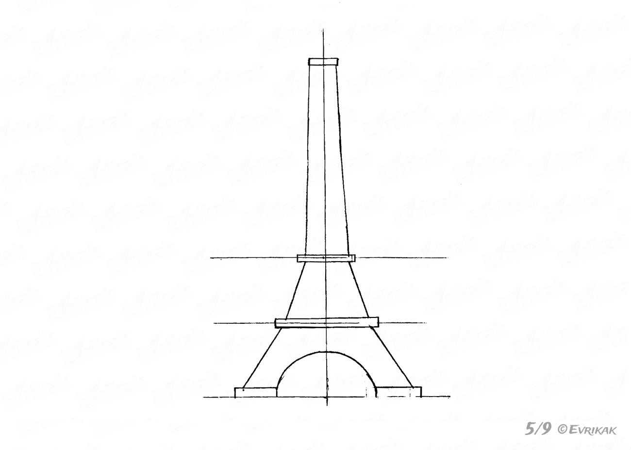 The shape of the tower
